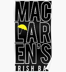 MacLaren's Irish Bar Poster