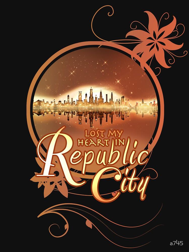 Lost My Heart In Republic City | Women's T-Shirt