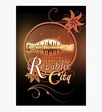 Lost My Heart In Republic City Photographic Print
