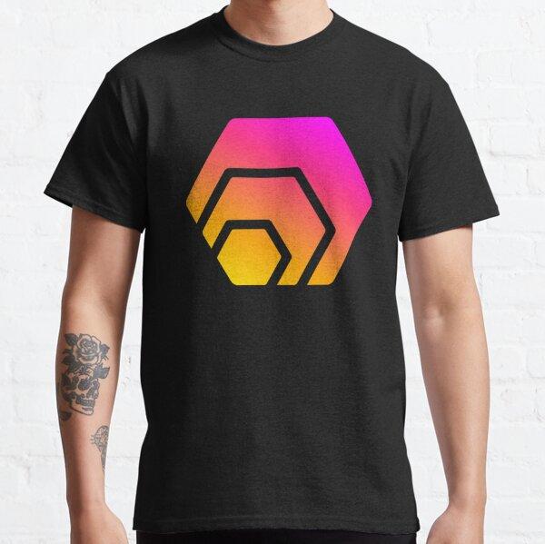 HEX Crypto Hexagon Logo Classic T-Shirt
