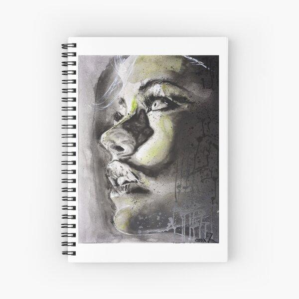 Green Woman Spiral Notebook