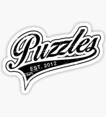 Puzzles HIMYM Black Sticker