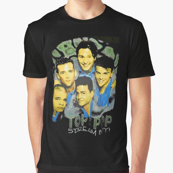 Top of the Pops Mens Retro Music Show T-Shirt Rock Punk Dance 60s 70s 80s 90s