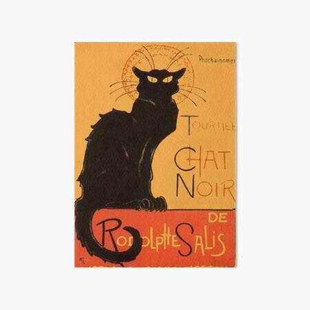 Tournee Du Chat Noir - After Steinlein Art Board Print