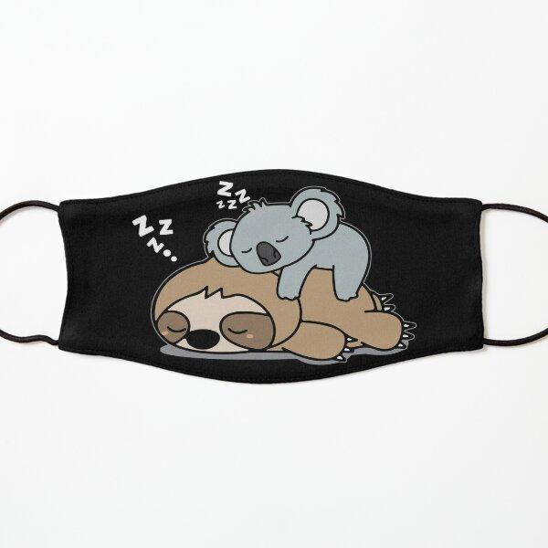 Cute Funny Lazy Sloth With Lazy Koala Mama Bear Napping Mothers Day Gift Kids Mask