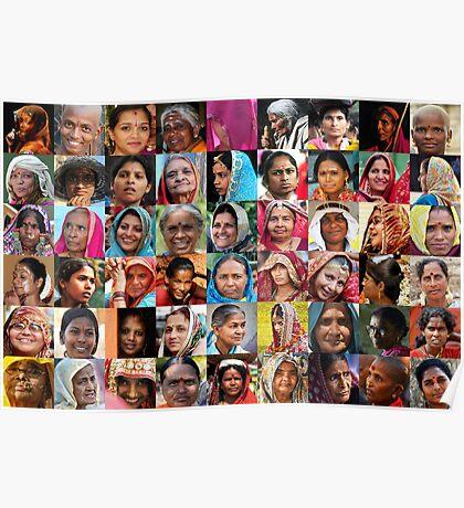 Indian Women  Poster