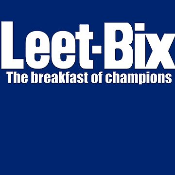 Leet-Bix  by KillbotClothing