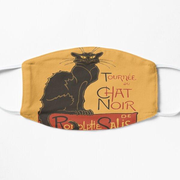 Tournee du Chat Noir De Rodolphe Salis Vector Flat Mask