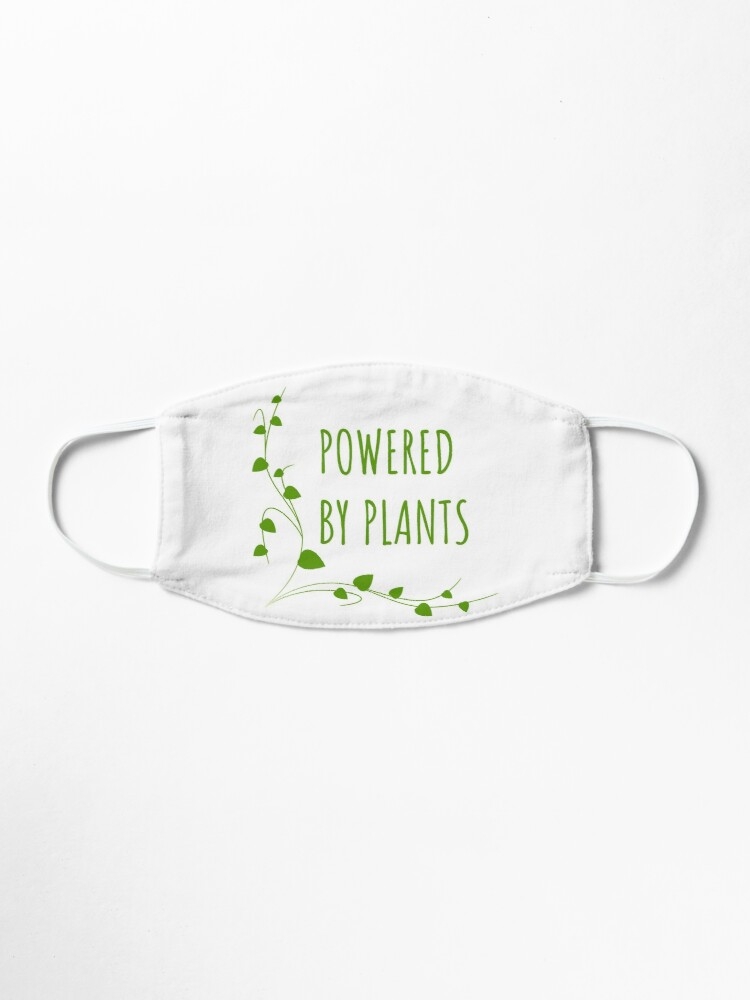 Alternate view of Powered By Plants Mask