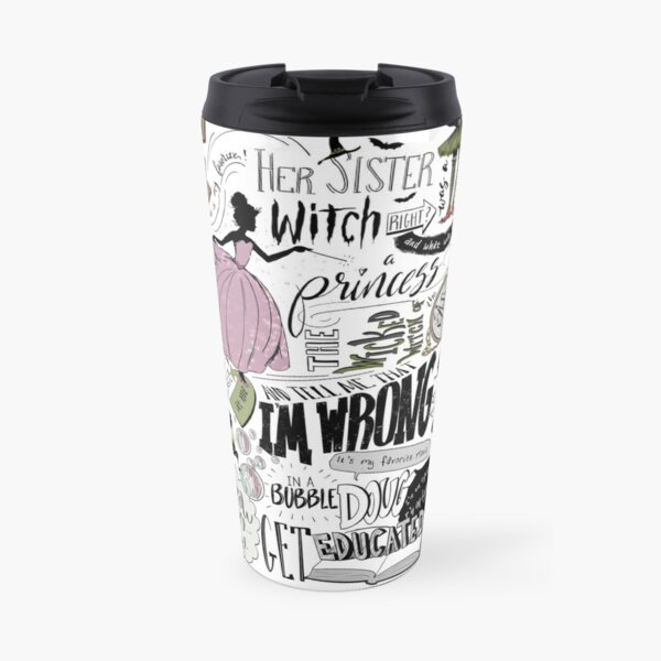 Wicked Witch of the East Bro Travel Mug