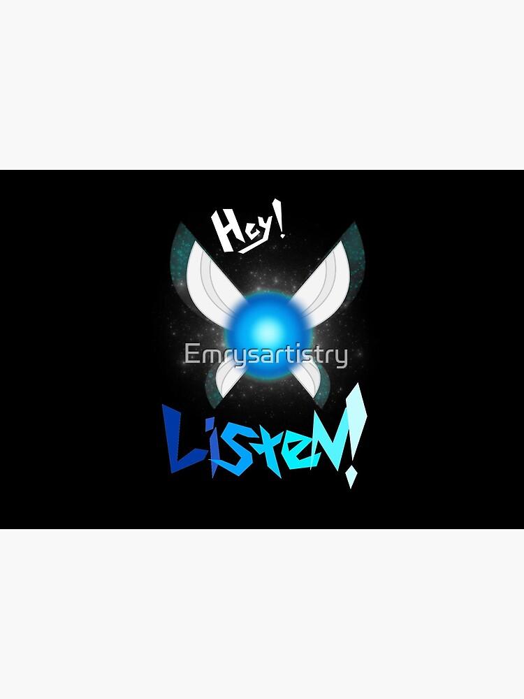 Hey! Listen! by Emrysartistry
