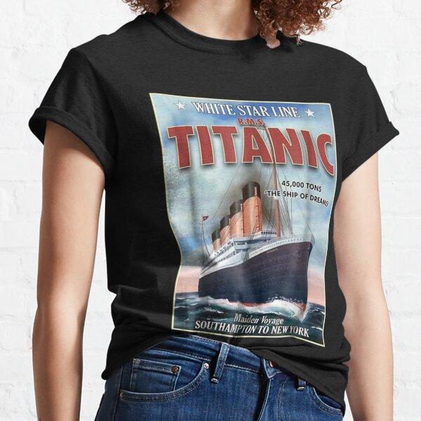 A 1912 Vintage Titanic Voyage Ship Cruise Vessel Classic T-Shirt