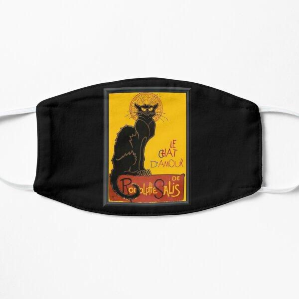 Le Chat D'Amour Black Cat Framed Vector Flat Mask