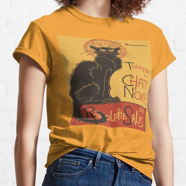 Tournee du Chat Noir De Rodolphe Salis Vector Classic T-Shirt