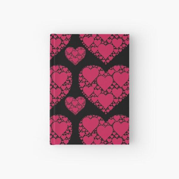Love Heart Pattern Hardcover Journal