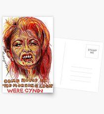 Were Cyndi Postcards