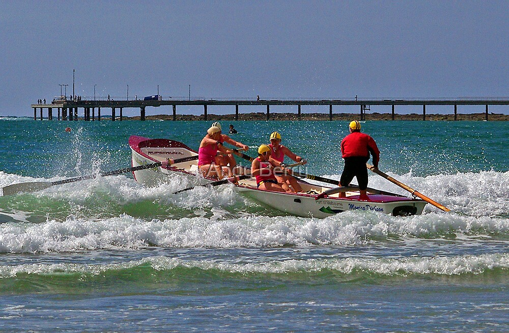 Williamstown at Vic Masters, Lorne, 2011 by Andy Berry