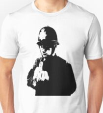 Banksy - Rude Copper T-Shirt