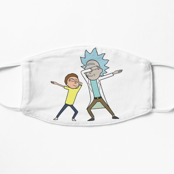 Dabbing Rick and Morty Mask