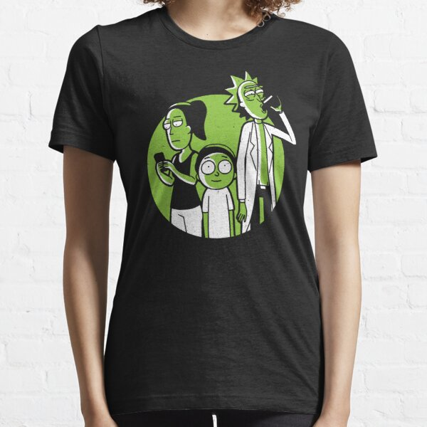 Rick, Morty, and Summer - Rick and Morty Art Essential T-Shirt