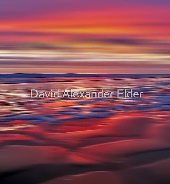 Mulberry Beach by David Alexander Elder