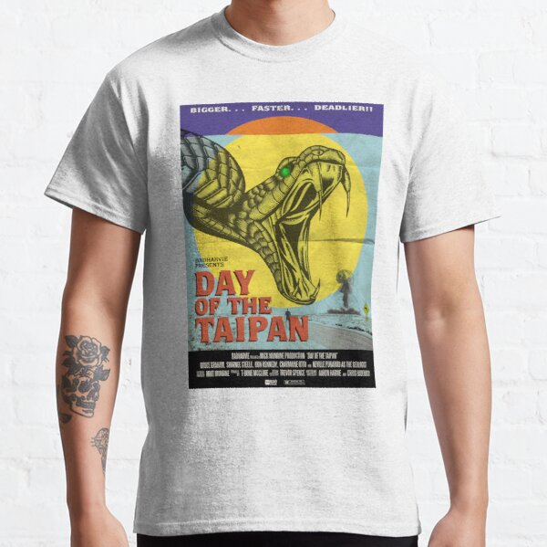 """Badharvie """"Day of the Taipan"""" Classic T-Shirt"""