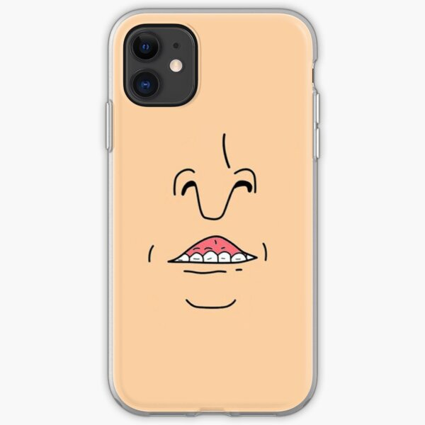 Butt Head Smile (Beavis and Butt head) iPhone Soft Case