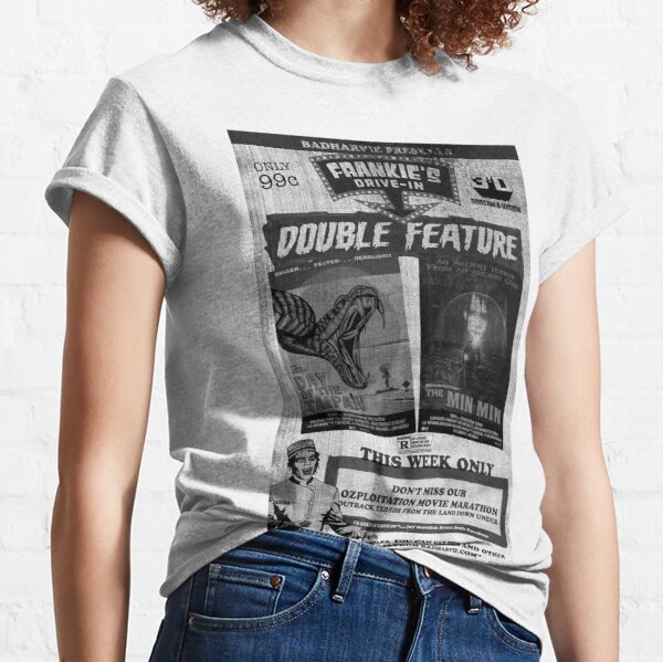 """Badharvie """"Frankie's Drive In - Double Feature"""" Classic T-Shirt"""