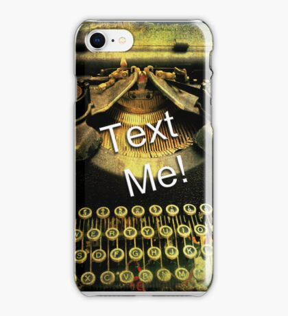 Text Me! iphone iPhone Case/Skin