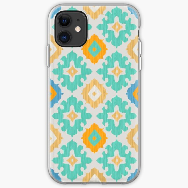 Diamond Ikat Pattern iPhone Soft Case