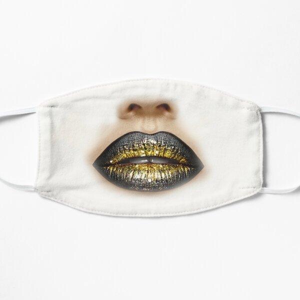 Cloth Face Mask Glitter Lips Mask