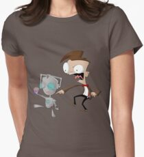 CyberGIR & Doctor Dib Womens Fitted T-Shirt
