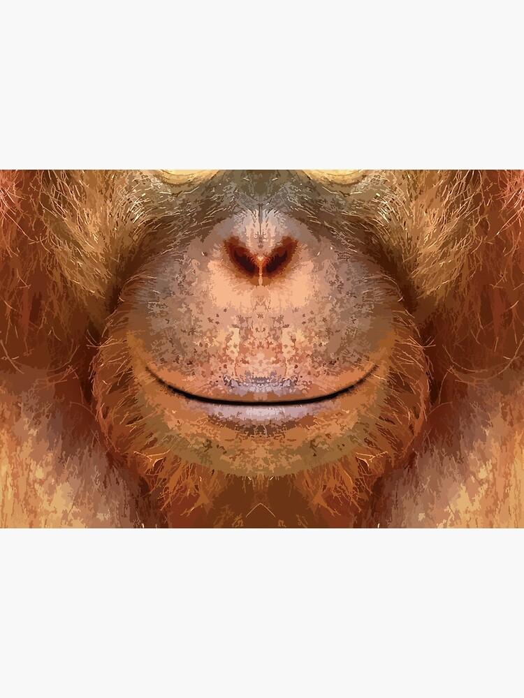 Cara de orangután de JasperBenoit