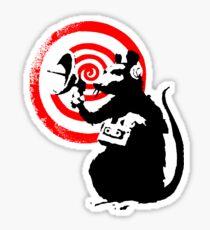 Banksy - Radar Rat Sticker