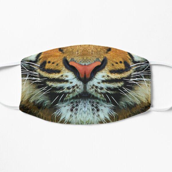 Tiger Face Flat Mask