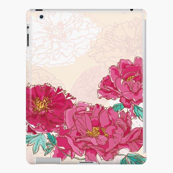 Red Peonies iPad Snap Case