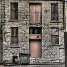 Little La Trobe Street by Colin  Ewington