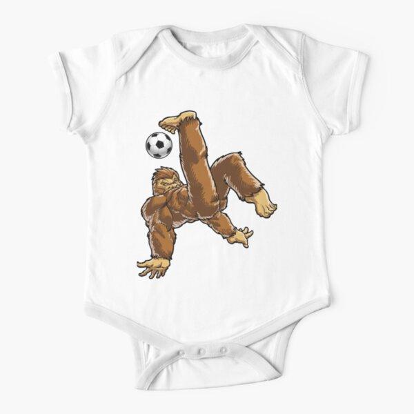 Bigfoot Sasquatch Guitar Player Funny Baby Boy Girl Novelty Bodysuit Costume