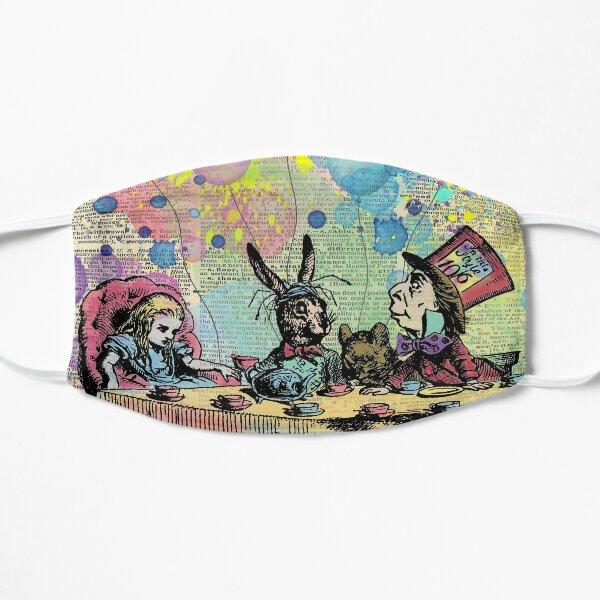 Tea Party Celebration - Alice In Wonderland Flat Mask