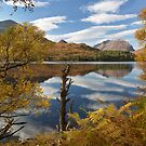 Torridon. Loch Clair and Liathach. Autumn Colours. Highlands of Scotland. by PhotosEcosse