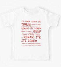 ROMANI ITE DOMUM #2 (iPhone version) Kids Tee