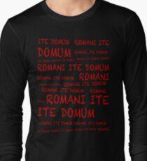 ROMANI ITE DOMUM #2 (iPhone version) Long Sleeve T-Shirt