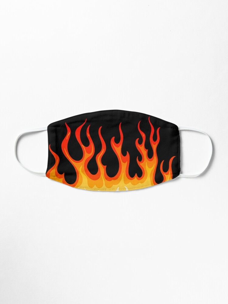 Alternate view of fire hot rod Mask
