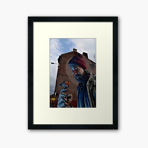 Glasgow Scotland St Mungo Street Art Terrace House Framed Art Print