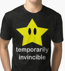 Temporarily Invincible Tri-blend T-Shirt