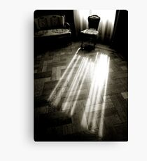 - c Curtain light Canvas Print