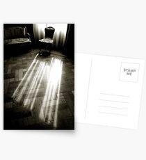 - c Curtain light Postcards