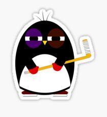 Hockey penguin Sticker