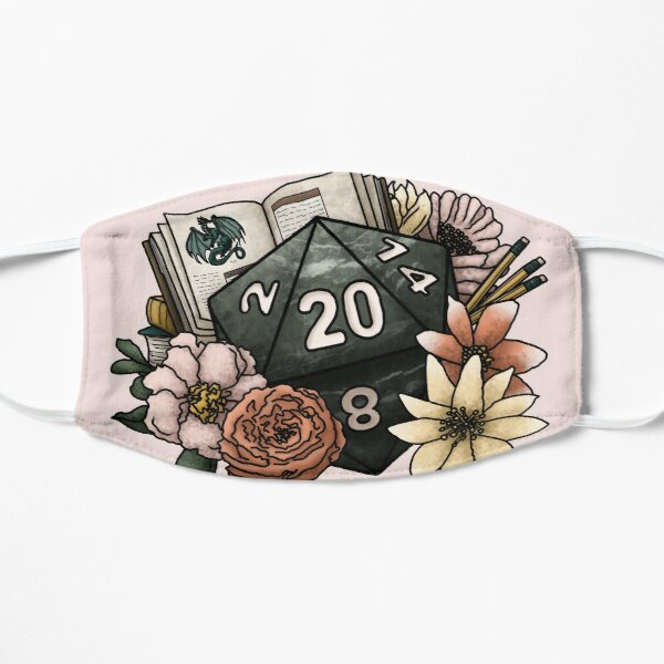 Dungeon Master D20 - Tabletop Gaming Dice Mask