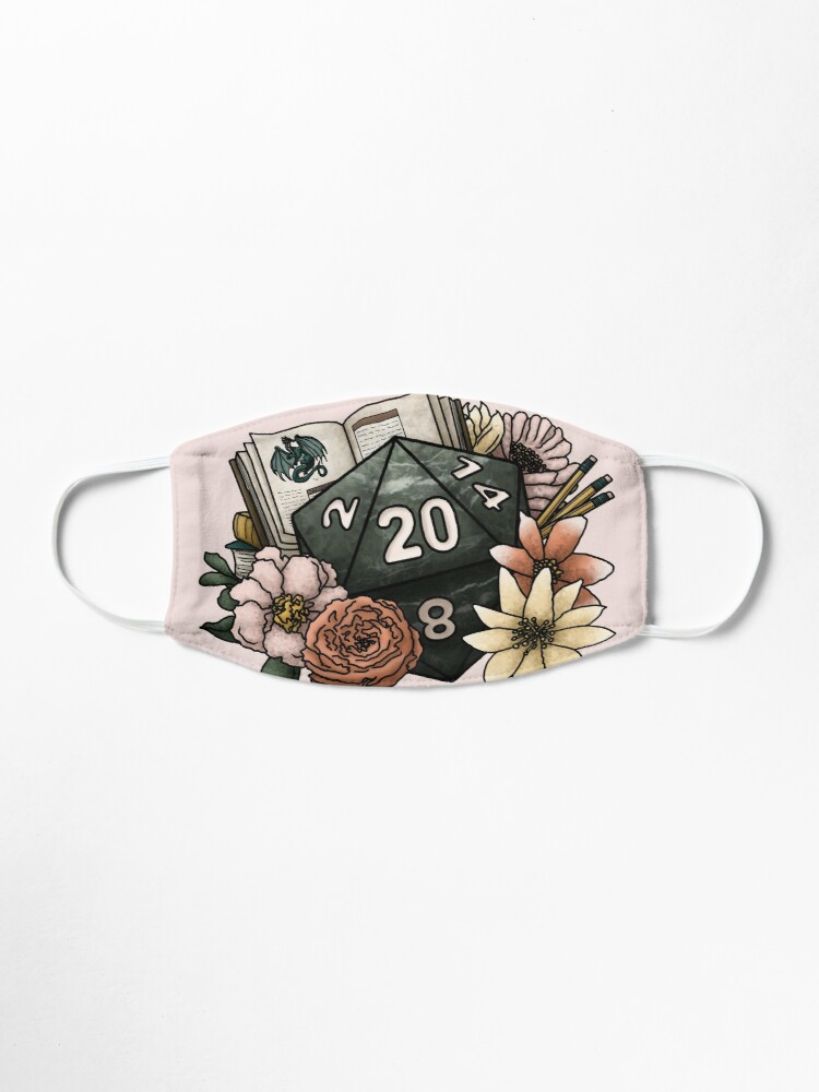 Alternate view of Dungeon Master D20 - Tabletop Gaming Dice Mask